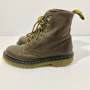 Dr. Martens Brown Leather Boots Size 36